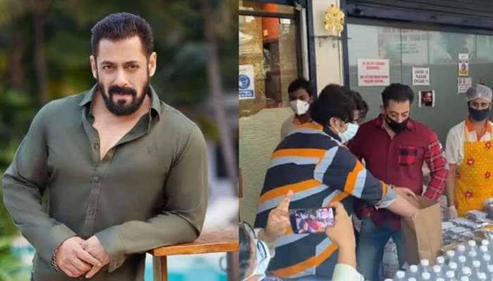 Video: Salman Khan કોરોનાકાળમાં આ રીતે કરી રહ્યો છે લોકોની મદદ