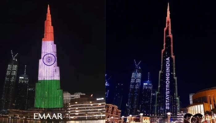 Video: ત્રિરંગાના રંગમાં રંગાઈ બુર્જ ખલીફાની ઈમારત, ચારેબાજુથી અવાજ ઉઠ્યો- Stay Strong India