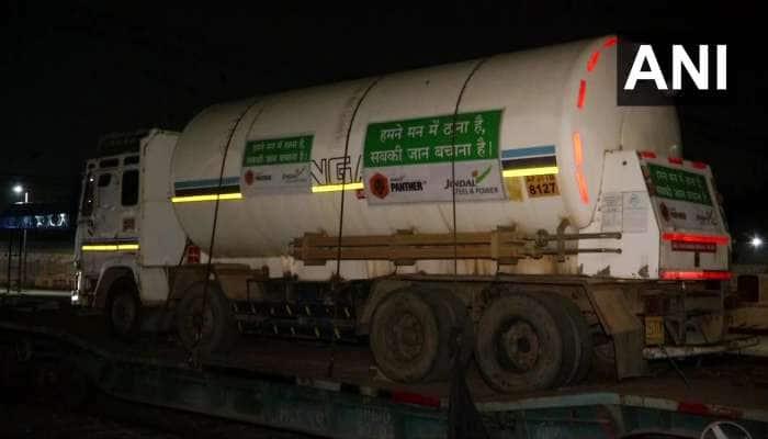 Delhi પહોંચી 'ઓક્સિજન એક્સપ્રેસ', પ્રાણવાયુ માટે ટળવળતા દર્દીઓને મળશે રાહત