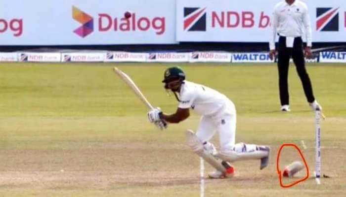 Video: ક્રિકેટ ઈતિહાસની સૌથી અનોખી ઘટના, બેટ્સમેને શોટ મારતાની સાથે જ કંઈક એવું થયું....