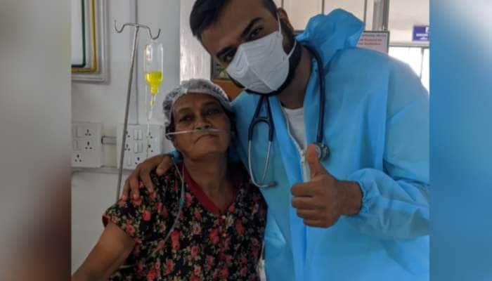 Navsari: ડાયાબીટીસથી પીડિત 62 વર્ષીય મહિલાએ 10 દિવસમાં કોરોનાને હંફાવ્યો