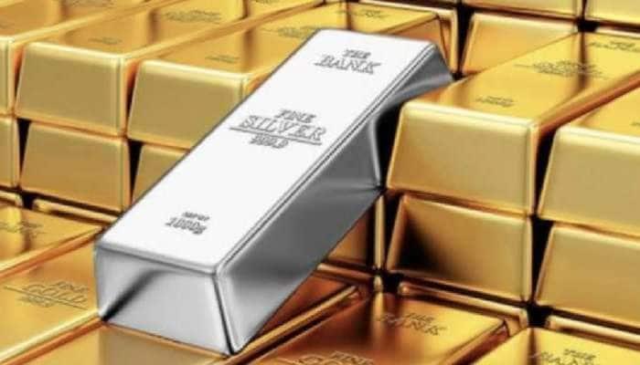 Gold Price Today: સોનાના હાજર ભાવમાં ઘટાડો, ચાંદીમાં તેજીનો માહોલ, જાણો નવી કિંમત