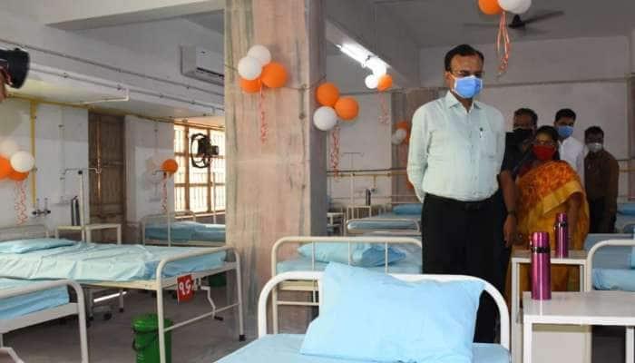 સરસપુરમાં કોવીડ કેર સેન્ટરનો પ્રારંભ, રાજ્યમાં કોવીડ બેડની સંખ્યા અંદાજે 1 લાખે પહોંચી