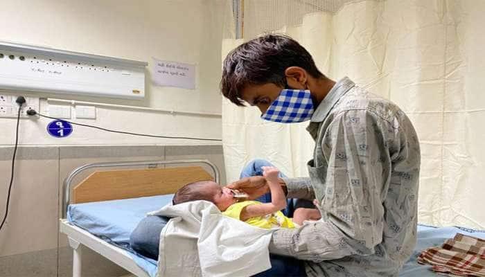 જન્મના બીજા જ દિવસે કોરોના સંક્રમિત બાળકી પર જટિલ સર્જરી કરી તબીબોએ બચાવી લીધી