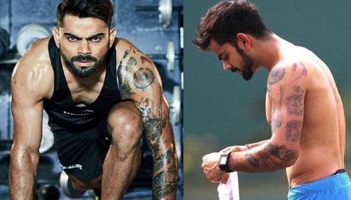Virat Kohli ની શાન છે આ 11 Tattoos, જાણો કયા ટેટૂનો શું છે અર્થ