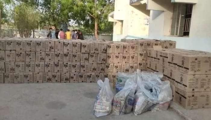 બોર્ડર બંધ હોવા છતા રાજસ્થાનથી ગુજરાત આવ્યો દારૂ ભરેલો ટ્રક