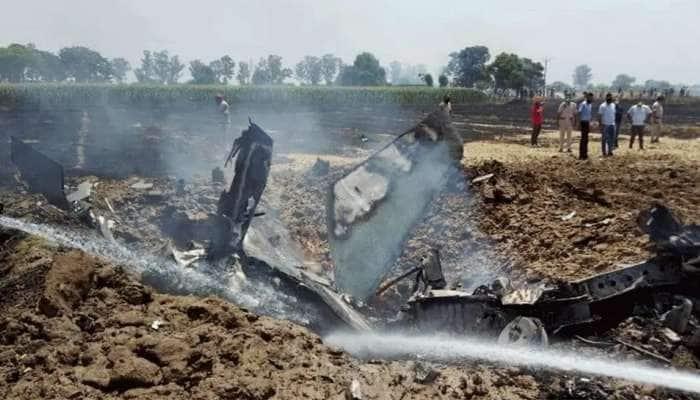 Punjab: મોગામાં વાયુસેનાનું MiG-21 વિમાન ક્રેશ, Pilot અભિનવ ચૌધરીનું મૃત્યુ, તપાસના આદેશ અપાયા