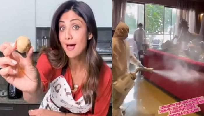 Video: Shilpa Shetty ના પરિવારે કોરોનાને આપી માત, અભિનેત્રીએ ઘર કરાવ્યું સેનિટાઇઝ