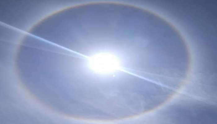 Solar Ring: Bengaluru ના આકાશમાં દેખાયો અદભુત ખગોળિય નજારો, સૂર્યની ચારેય તરફ બની ગયો ગોળો