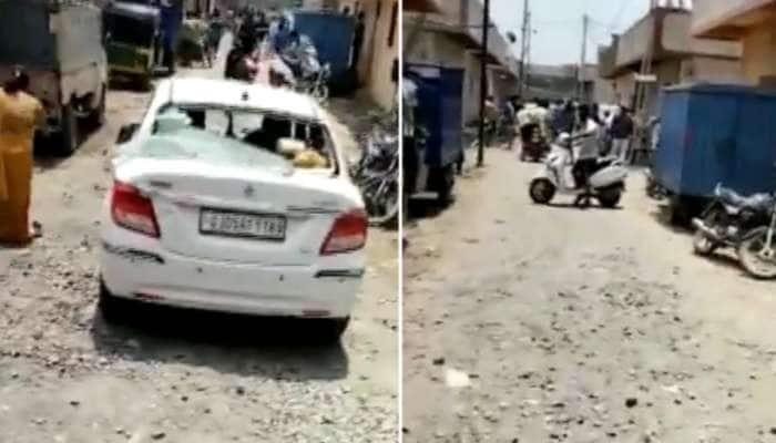 Surat: બેખોફ અસામાજિક તત્વોનો આતંક, મહિલા પર કર્યો હુમલો, ગાડીના તોડ્યા કાચ