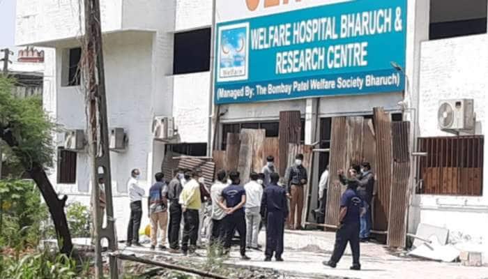 ભરૂચ કોવિડ હોસ્પિટલ અગ્નિકાંડ: તપાસ પંચે 18 જીવને હોમી દેનાર કોવિડ કેર સેન્ટરનું કર્યું નિરીક્ષણ