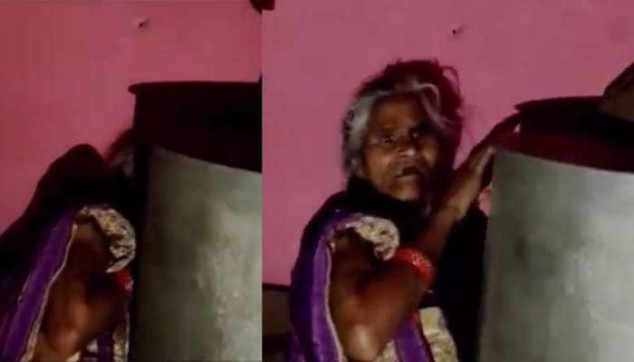 Video: કોરોનાની રસી જોઈને ભાગમભાગી કરવા લાગ્યા વૃદ્ધા, દોડીને પીપડા પાછળ સંતાઈ ગયા