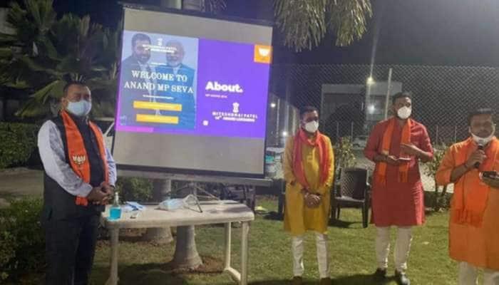 ડિજિટલ ભારતના ડિજિટલ સાંસદ: નાગરિકો માટે 'આણંદ એમપી સેવા' નામથી તૈયાર કરાઈ વેબસાઈટ