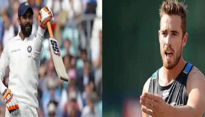 ICC ટેસ્ટ રેન્કિંગમાં ભારતના રવિન્દ્ર જાડેજા અને ન્યૂઝીલેન્ડના ટીમ સાઉદીને થયો ફાયદો