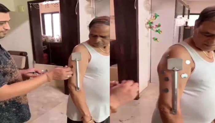 71 વર્ષના વ્યક્તિનો દાવો, Covishield રસી લીધા બાદ શરીરમાં આવી ગયો મેગ્નેટિક પાવર!, જુઓ Video