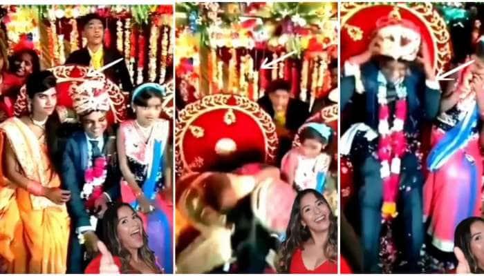 હાય હાય...આ શું? દુલ્હનની બહેને લગ્ન મંડપમાં જ દુલ્હેરાજા સાથે કરી ગંદી મજાક, જુઓ Viral Video