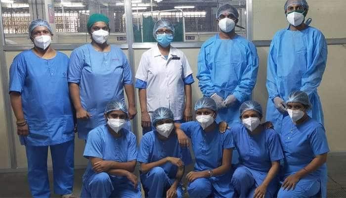 સ્મીમેર હોસ્પિટલના દર્દીઓની સેવામાં ફરજ નિભાવતાં દંપતિ:કોરોના વોરિયર્સને સલામ