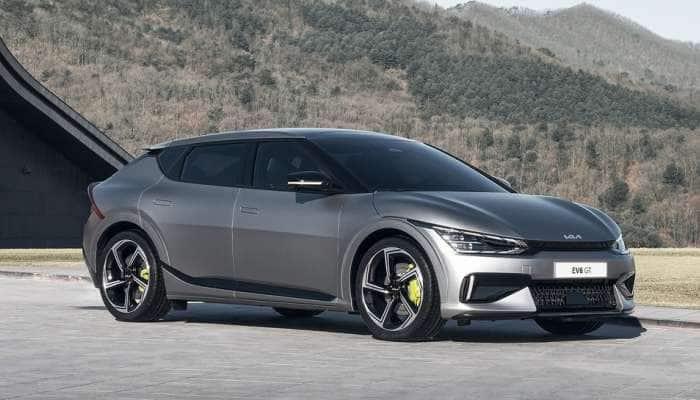KIA ની EV6 ઈલેક્ટ્રિક SUV કાર લોન્ચ, 5 મિનિટમાં ચાલે છે 100 કિમી, જુઓ બીજા શાનદાર ફિચર્સ