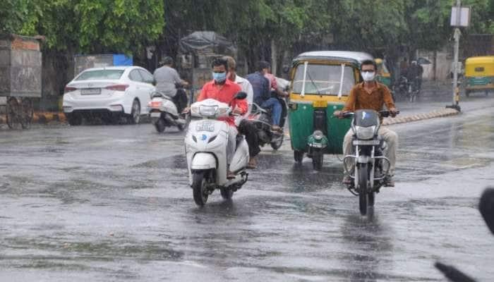 Gandhinagar માં પવન સાથે વરસાદી ઝાપટું, અસહ્ય ઉકળાટમાંથી મળ્યો છુટકારો