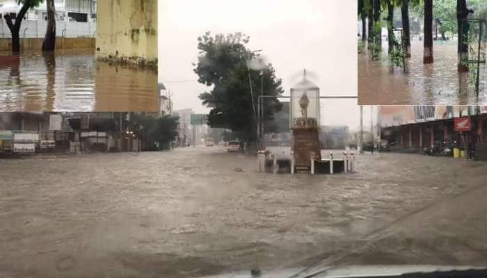 Anand માં 4 કલાકમાં 7 ઈંચ વરસાદ: શહેર બોટમાં ફેરવાયું, મેઘરાજાએ કર્યા ખમૈયા