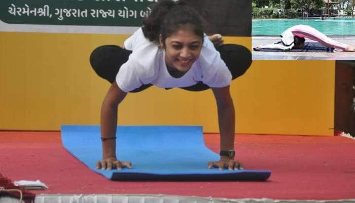 World Yoga Day: ભાવનગરની રબર ગર્લ છે આંતરરાષ્ટ્રીય યોગ એમ્બેસેડર, યોગ ક્ષેત્રમાં દેશ-વિદેશમાં વગાડ્યો છે ડંકો