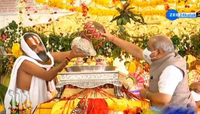 ભગવાન જગન્નાથની જળયાત્રા નીકળી, નાયબ મુખ્યમંત્રી અને ગૃહમંત્રીની હાજરીમાં પૂજા થઈ