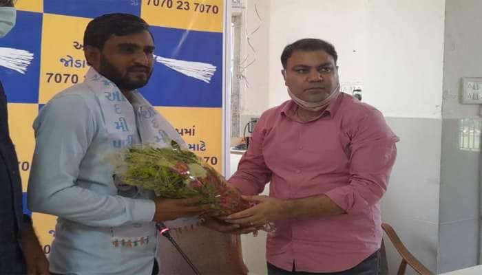 ગુજરાતનો આંદોલનકારી ચહેરો અને લડાયક નેતા પ્રવીણ રામ AAP માં જોડાયા