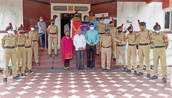 જામનગરમાં નેશનલ ડોક્ટર્સ ડે ની ઉજવણી, NCC 27 ગુજરાત બટાલિયને કર્યું તબીબોનું સન્માન