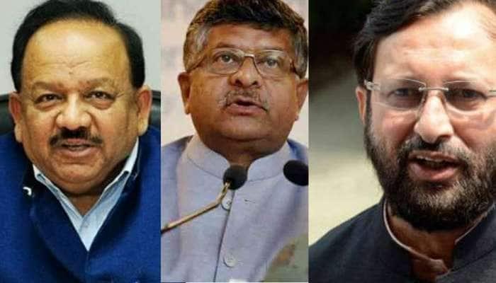 Modi Cabinet Expansion: હર્ષવર્ધન, રવિશંકર પ્રસાદ, જાવડેકર...મોદી મંત્રીમંડળમાંથી આ દિગ્ગજ નેતાઓ થયા આઉટ