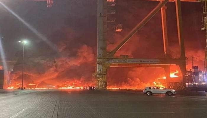 Dubai ના Jebel Ali Port પર રહસ્યમયી વિસ્ફોટ, દહેશતમાં લોકો