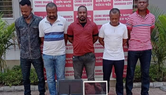 Online છેતરપિંડી કરનાર આંતરરાષ્ટ્રીય આફ્રિકન ટોળકી ઝડપાઇ