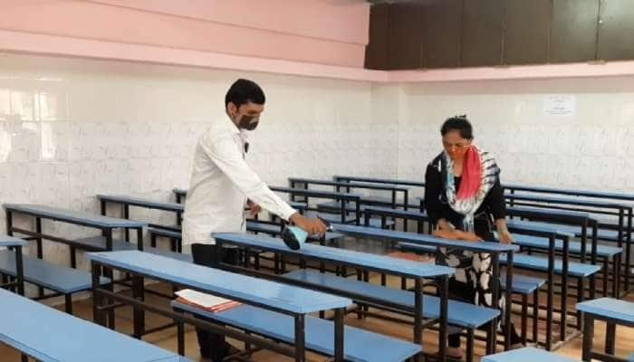 Jamnagar: ગુરૂવારથી કોરોના પ્રોટોકોલ સાથે શરૂ થશે ઓફલાઇન શિક્ષણ કાર્ય, શાળા સંચાલકોએ પૂરી કરી તૈયારી