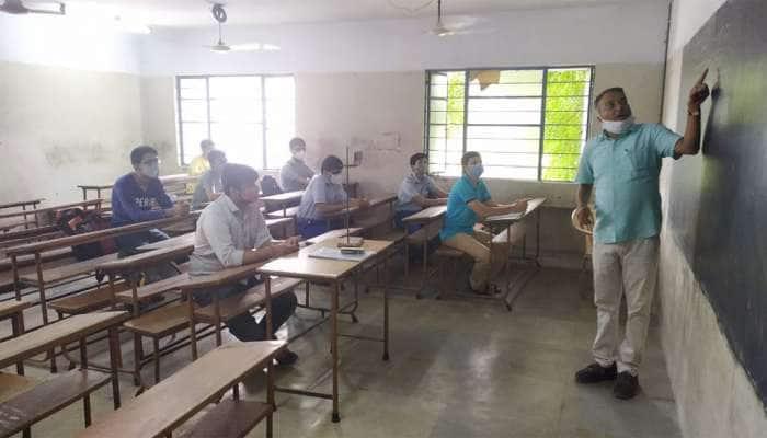ગુજરાતમાં આજથી શાળા-કોલેજ અનલોક : ભારે ઉત્સાહ સાથે વિદ્યાર્થીઓ શાળામાં પહોંચ્યા