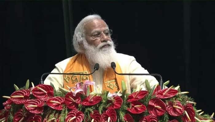 PM Modi in Varanasi: પીએમ મોદીએ રૂદ્રાક્ષ કન્વેન્શન સેન્ટરનું કર્યું ઉદ્ઘાટન, કહ્યું- 'જાપાન ભારતના સૌથી વિશ્વસનીય મિત્રોમાંથી એક'