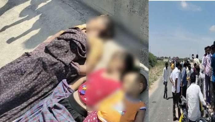 કરુણતા : થરાદમાં મહિલાએ 4 બાળકીઓ સાથે કેનાલમાં ઝંપલાવ્યું, 3 ના મોત