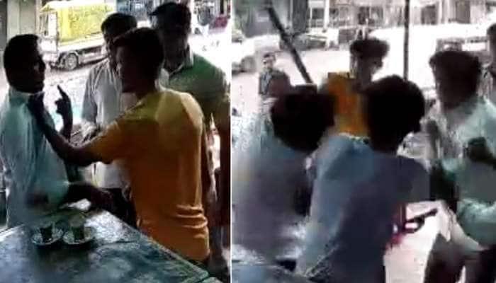 કચ્છમાં મંત્રની ઓફિસ સામે કાયદાની ઐસી કી તૈસી, જાહેરમાં હથિયાર વડે શખ્સ પર હુમલો; સામે આવ્યા CCTV