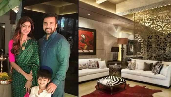 Raj Kundra-Shilpa Shetty House: આ છે રાજ કુન્દ્રા અને શિલ્પા શેટ્ટીનું ભવ્ય ઘર, જુઓ Inside તસવીર