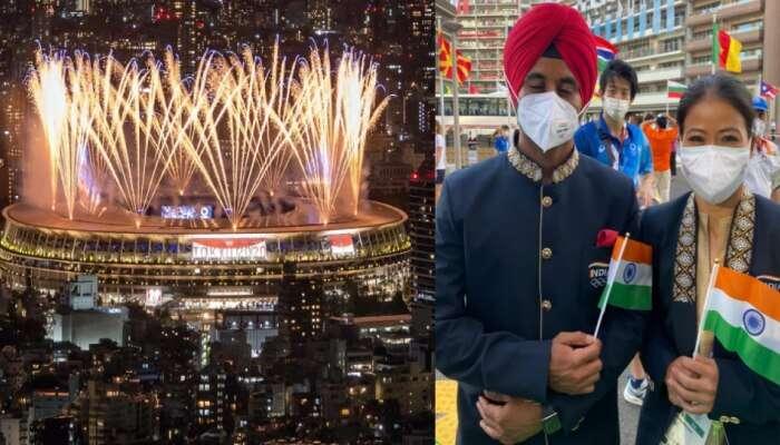 Tokyo માં થયો ઓલમ્પિક ધમાકેદાર આગાજ, જુઓ Opening Ceremony ના સુંદર ફોટોઝ