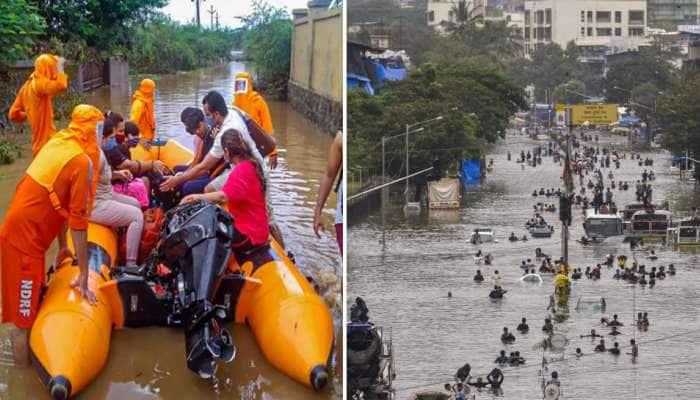 Maharashtra Rain Update: વરસાદ-ભૂસ્ખલનના કારણે 136 લોકોના મોત, 6 જિલ્લામાં રેડ અલર્ટ, જાણો ક્યાં કેટલું થયું નુકસાન