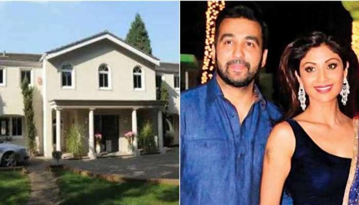 Inside Photos: બ્રિટનમાં Shilpa Shetty અને Raj Kundra નો આલીશાન 'રાજ મહેલ'