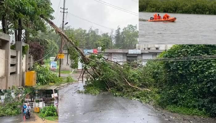 Monsoon Update: વલસાડ જિલ્લામાં મેઘમહેર, ક્યાંય રસ્તા બંધ થયા તો ક્યાં વિજળી થઇ ડૂલ