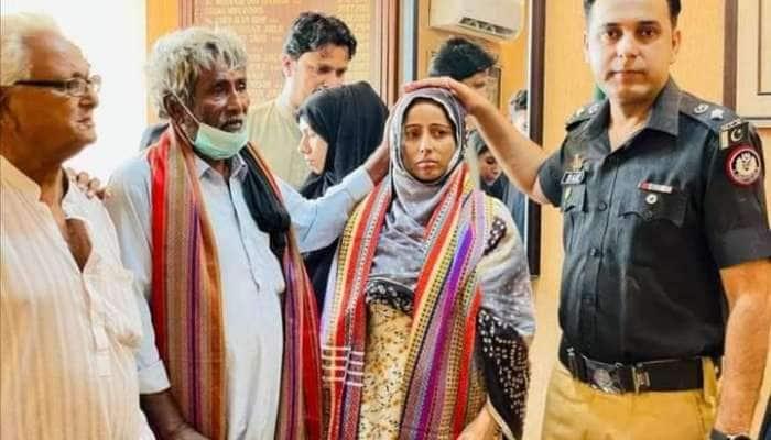 પાકિસ્તાનમાં ધર્મ પરિવર્તન કરાવી હિન્દુ મહિલાના લગ્ન કરાવી દીધા, વીડિયા વાયરલ થયા બાદ પોલીસે બચાવી