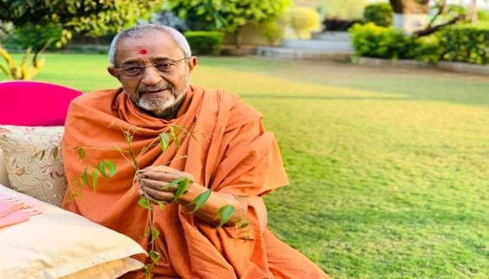 હરિપ્રસાદ સ્વામીના નિધન પર CM રૂપાણીએ કહ્યું, તેમનું અમૂલ્ય યોગદાન સદાય અવિસ્મરણીય રહેશે