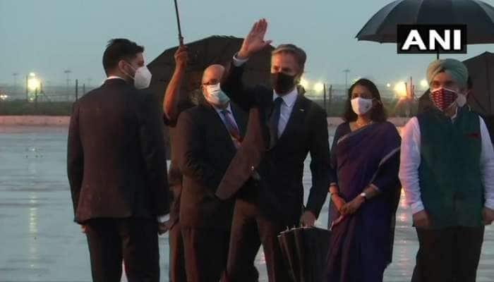 અમેરિકી વિદેશ મંત્રી antony blinken ભારત પહોંચ્યા, પ્રધાનમંત્રી અને વિદેશ મંત્રી સાથે કરશે મુલાકાત
