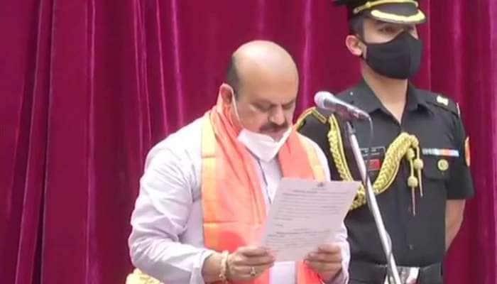 Basavaraj Bommai કર્ણાટકના 23માં મુખ્યમંત્રી બન્યા, રાજ ભવનમાં લીધા CM પદના શપથ