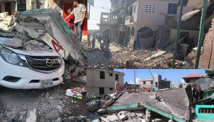 Haiti Earthquake: હૈતીના દરિયાકાંઠે 7.2 ની તીવ્રતાનો ભૂકંપ, ભારે વિનાશની આશંકા