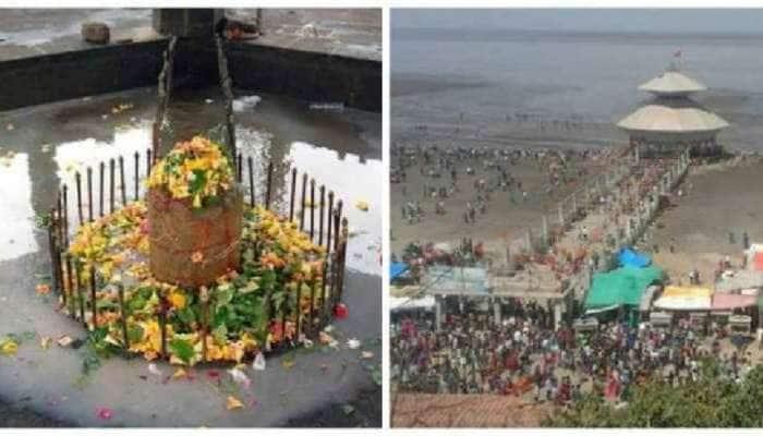 ગુજરાતનું આ મંદિર દિવસમાં બે વાર પાણીમાં ગરકાવ થઈ જાય છે, દરિયાકાંઠે બેસીને ભક્તો જુએ છે આ નજારો