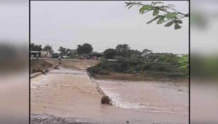 ગોંડલમાં હરખની હેલી : ધોધમાર વરસાદથી સ્થાનિક નદીઓમાં આવ્યું ધોડાપૂર
