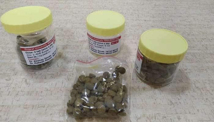 Corona: ગુ. યુનિવર્સિટી દ્વારા તૈયાર કરાયેલ  હર્બલ આયુર્વેદિક દવાને ICMR દ્વારા ત્રીજા તબક્કાની ટ્રાયલ માટે મંજૂરી મળી