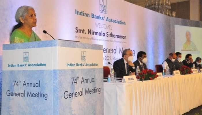FM Nirmala Sitharaman એ કહ્યું, ભારતીય અર્થતંત્રની બદલાતી જરૂરિયાતોને પહોંચી વળવા માટે SBI જેવી વધુ 4-5 બેન્કોની જરૂર